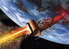 What would Santa's Rocket Sleigh look like?